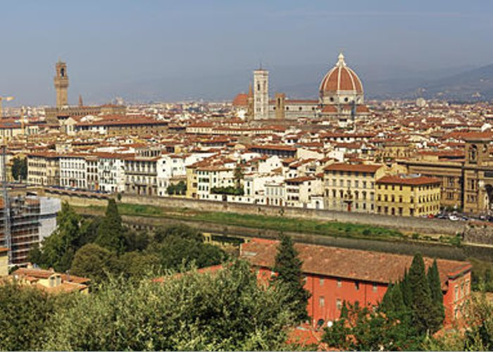 Florence Greeting Card featuring the photograph Florence by Joana Kruse