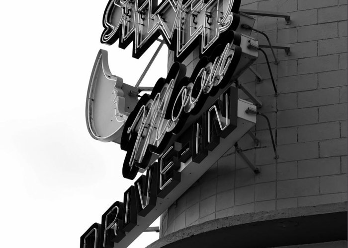 Fine Art Photography Greeting Card featuring the photograph 1940s Drive In by David Lee Thompson