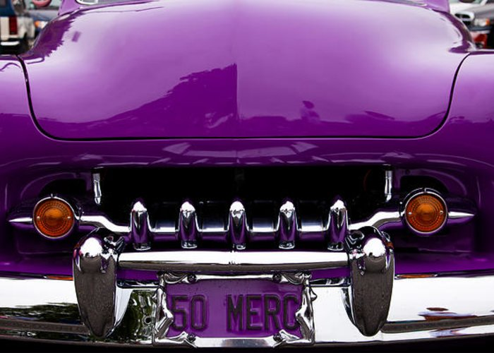 50 Greeting Card featuring the photograph 1950 Mercury by David Patterson