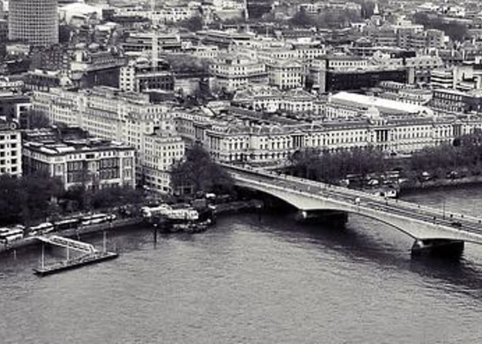 London Greeting Card featuring the photograph London by Sharon Lisa Clarke