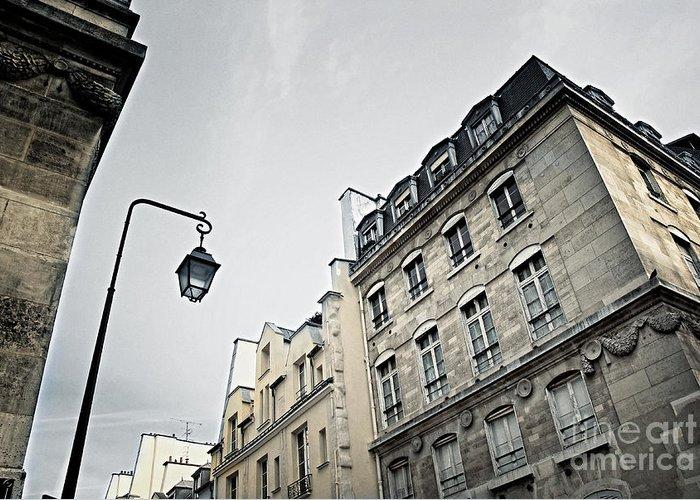 Paris Greeting Card featuring the photograph Paris Street by Elena Elisseeva