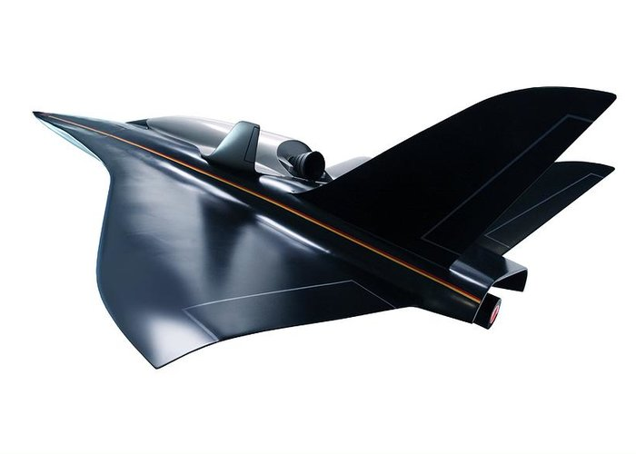 Aerodynamics Greeting Card featuring the photograph Saenger Horus Spaceplane, Artwork by Detlev Van Ravenswaay