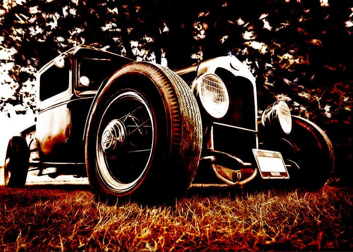 Hot Rod Greeting Card featuring the photograph 29 Ford Pickup by Phil 'motography' Clark