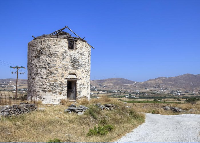 Paros Greeting Card featuring the photograph Paros - Cyclades - Greece by Joana Kruse