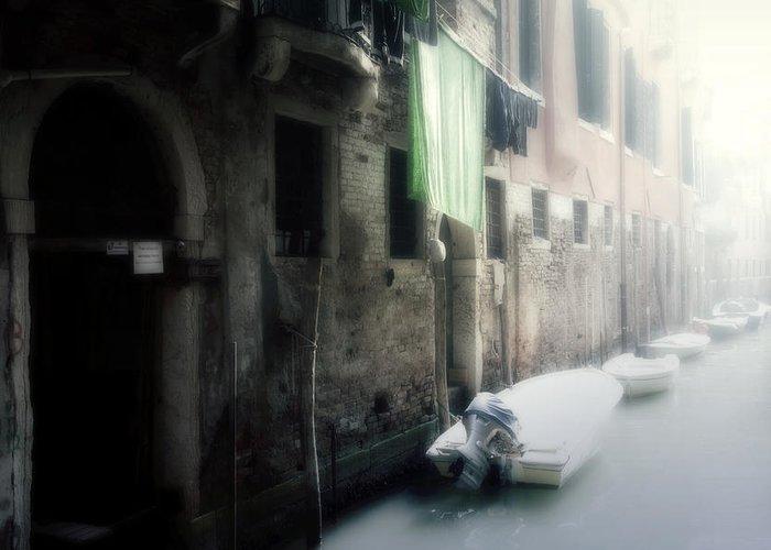 Venice Greeting Card featuring the photograph Venezia by Joana Kruse