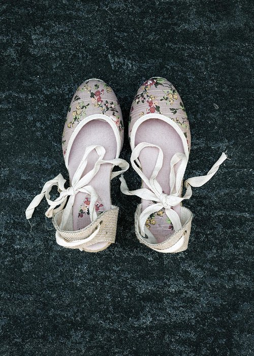 Shoe Greeting Card featuring the photograph Shoes by Joana Kruse