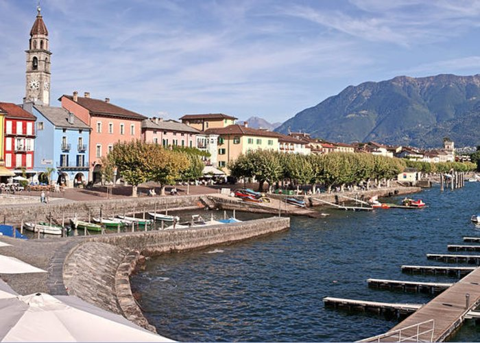 Apartment Greeting Card featuring the photograph Ascona - Ticino by Joana Kruse