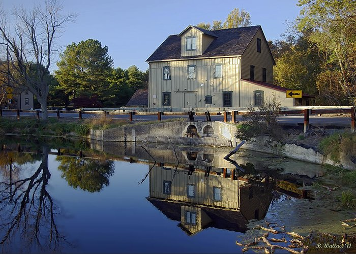 Brian Wallace Greeting Card featuring the photograph Abbotts Mill by Brian Wallace