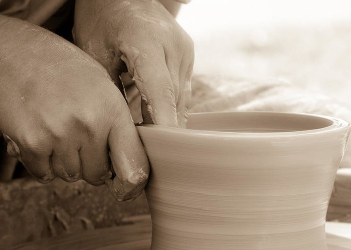 Art Greeting Card featuring the photograph Amazing Hands by Emanuel Tanjala