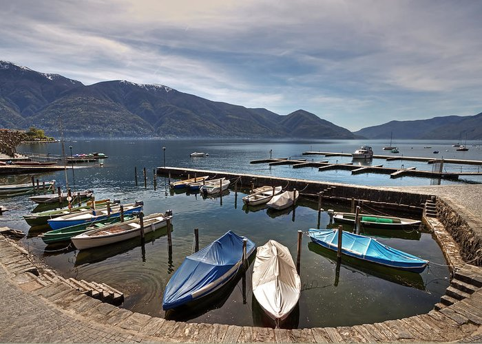 Beautiful Greeting Card featuring the photograph Ascona - Ticino by Joana Kruse