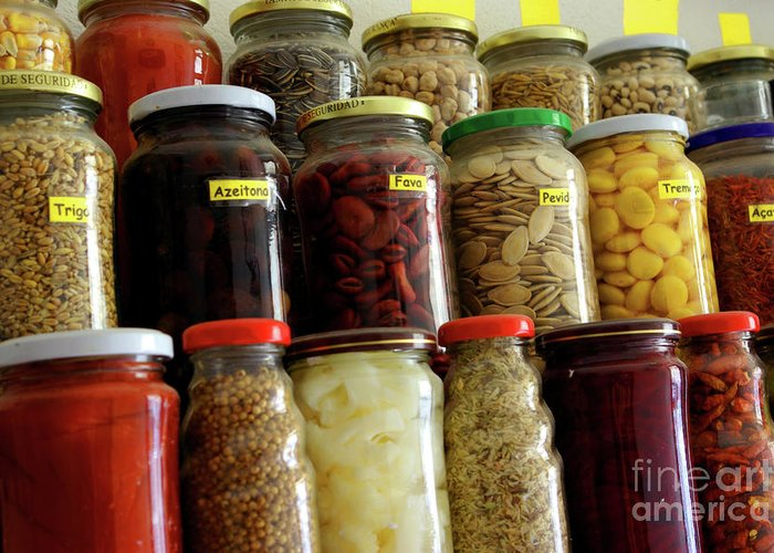 Assorted Greeting Card featuring the photograph Assorted Spices by Carlos Caetano