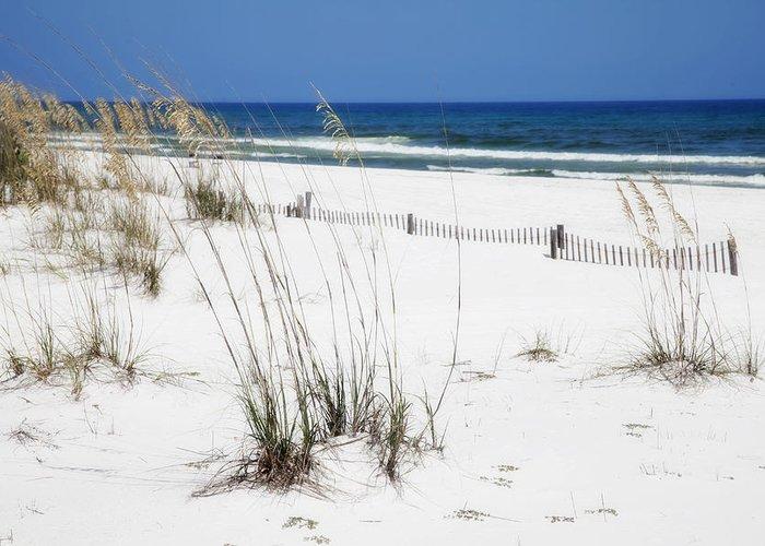 Beach Greeting Card featuring the photograph Beach No. 5 by Toni Hopper