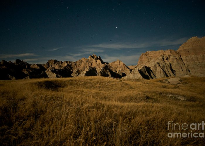 Badlands National Park Greeting Card featuring the photograph Big Dipper by Chris Brewington Photography LLC