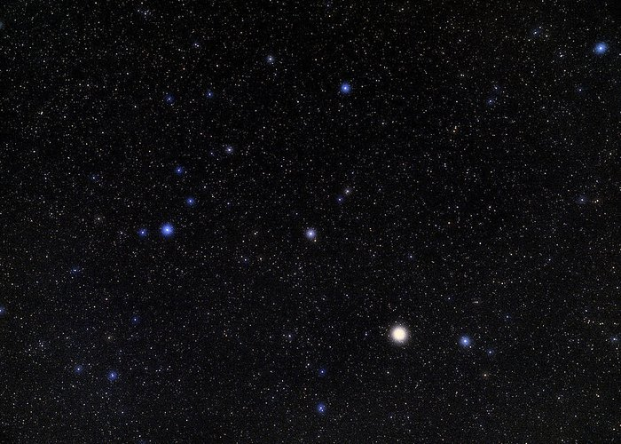 Alphecca Greeting Card featuring the photograph Bootes Constellation by Eckhard Slawik