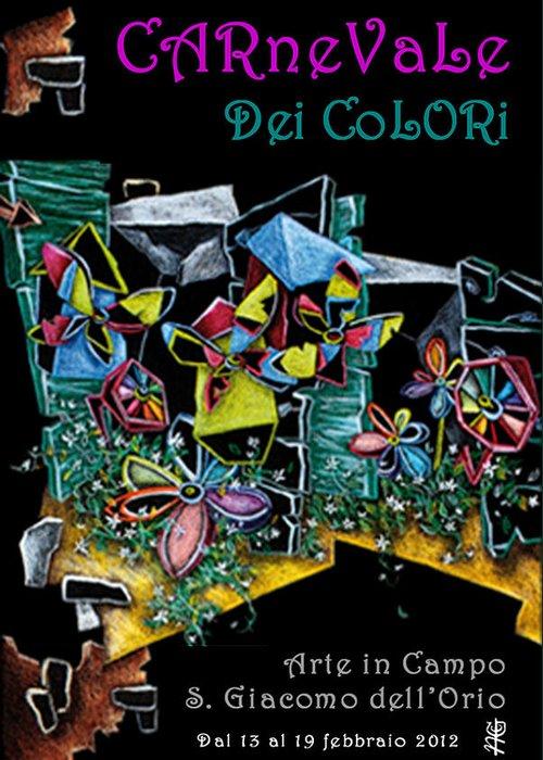 Spritz Greeting Card featuring the painting Carnevale Dei Colori - Venezia by Arte Venezia