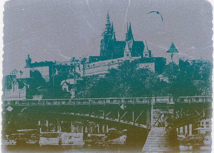 Castillo De Praga Greeting Card featuring the photograph Castillo De Praga by Naxart Studio