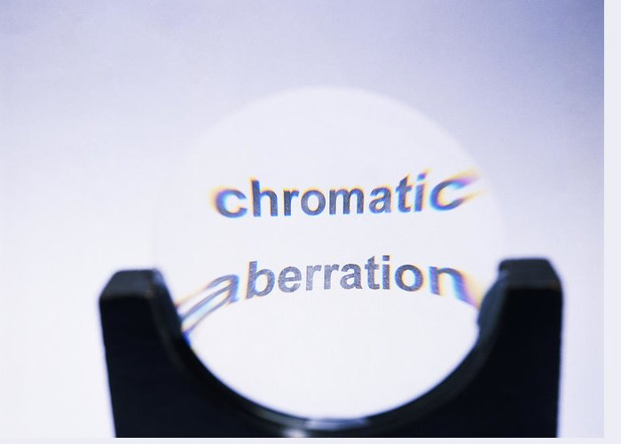 Chromatic Aberration Greeting Card featuring the photograph Chromatic Aberration by Andrew Lambert Photography