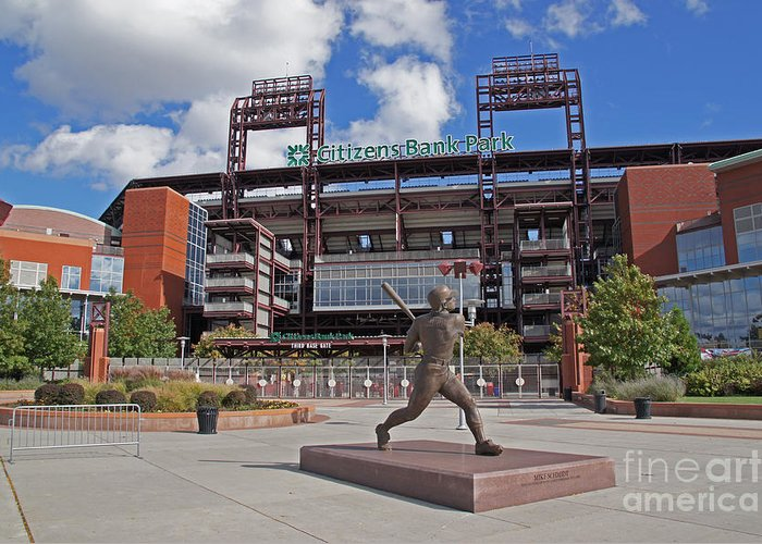 Citizens Park Greeting Card featuring the photograph Citizens Park 2 Color by Jack Paolini