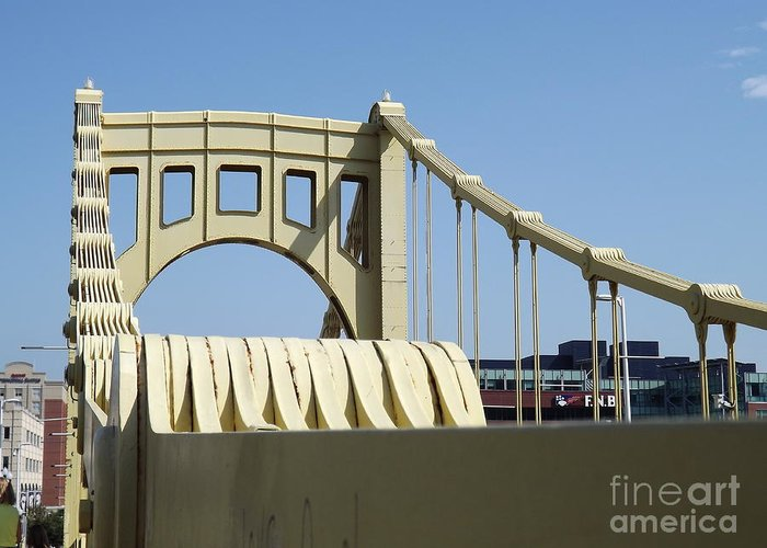 Roberto Greeting Card featuring the photograph Clemente Bridge by Chad Thompson
