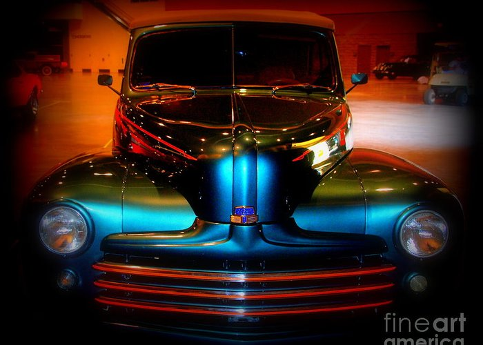 Dodge Greeting Card featuring the photograph Collector Car by Susanne Van Hulst