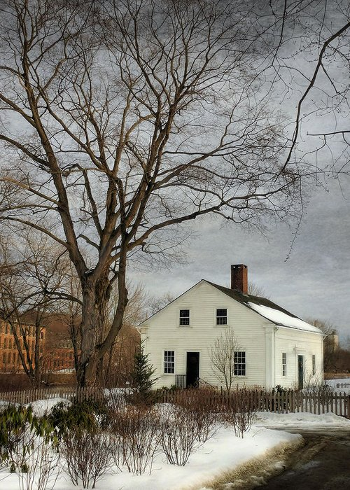 Wilbur Kelly Greeting Card featuring the photograph Cottage By The Mill by Robin-lee Vieira