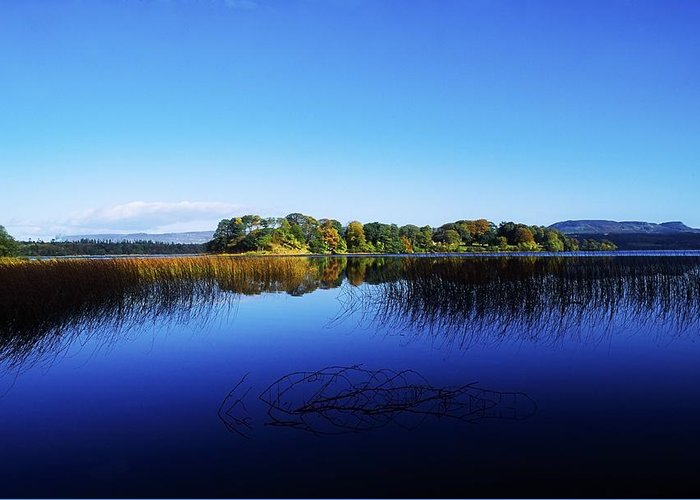 Beauty In Nature Greeting Card featuring the photograph Cottage Island, Lough Gill, Co Sligo by The Irish Image Collection