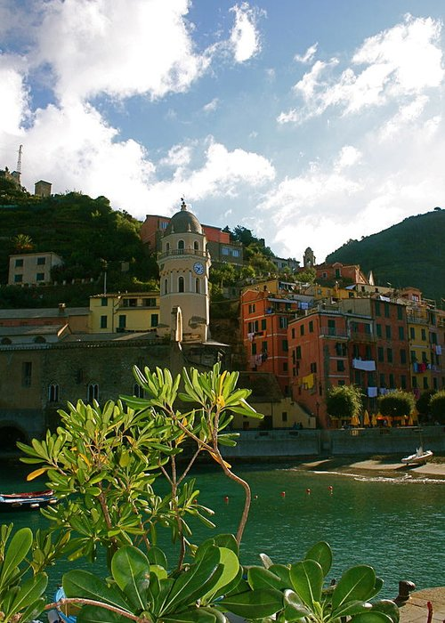 Vernazza Greeting Card featuring the photograph Dream Of Vernazza by K Scott Williamson