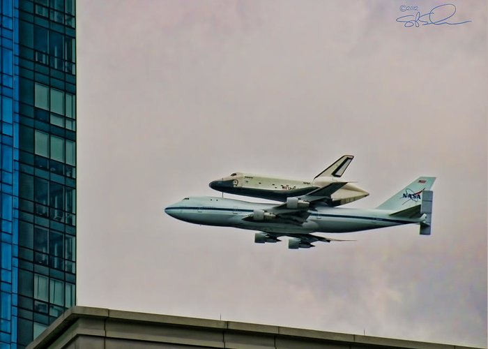 Ssv Greeting Card featuring the photograph Enterprise 10 by S Paul Sahm