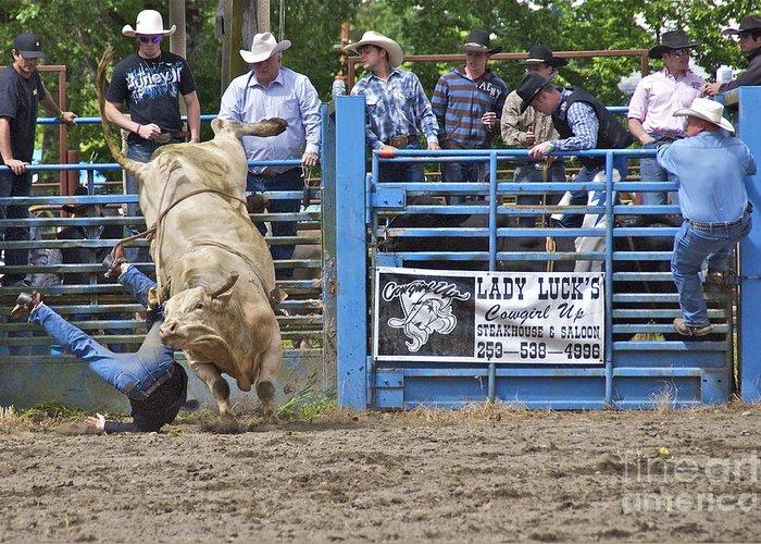 Photography Greeting Card featuring the photograph Fallen Cowboy by Sean Griffin
