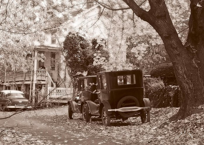 Fall Greeting Card featuring the photograph Fords At Harpers Ferry by Williams-Cairns Photography LLC