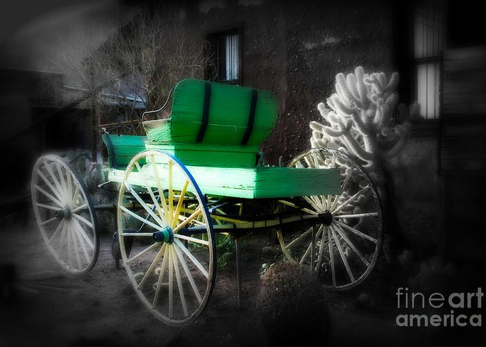 Ghost Rider Greeting Card featuring the photograph Ghost Rider by Susanne Van Hulst