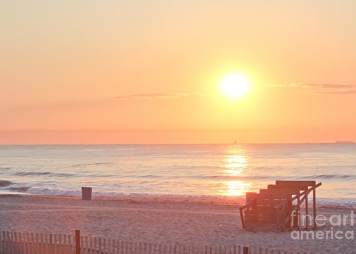 Beach Greeting Card featuring the photograph Hdr Beach Ocean Beaches Oceanview Scenic Sunrise Seaview Sea Photos Pictures Photo by Pictures HDR