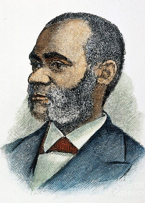1881 Greeting Card featuring the photograph Henry Highland Garnet by Granger