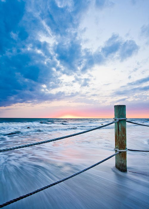 Tide Greeting Card featuring the photograph Incoming Tide by Adam Pender