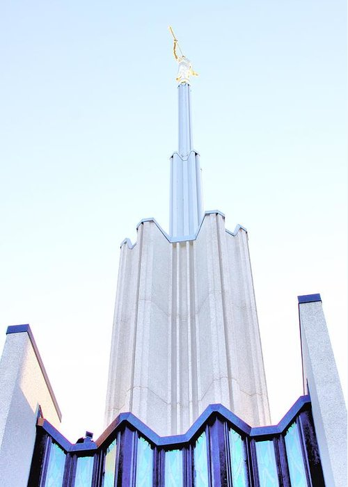 Building Greeting Card featuring the photograph Ivory Towers by Kenneth Mucke