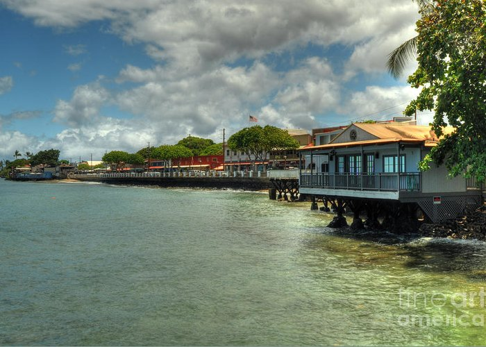 Lahaina Greeting Card featuring the photograph Lahaina Postcard 4 by Kelly Wade