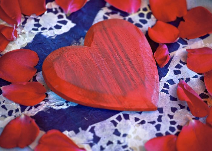 Heart Greeting Card featuring the photograph Love by Joana Kruse