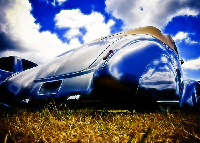Ford Greeting Card featuring the photograph Low Ford Roadster by Phil 'motography' Clark