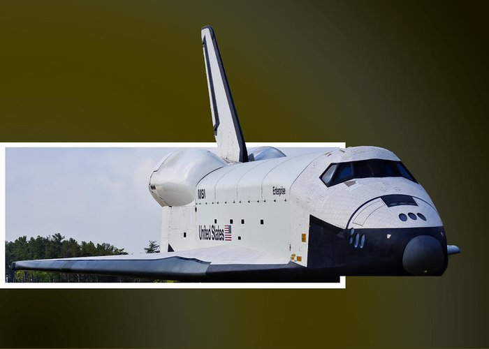 Space Greeting Card featuring the photograph Low Pass by Lawrence Ott