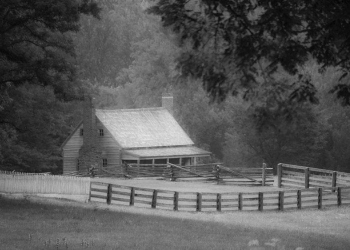 Appomattox Greeting Card featuring the photograph Mariah Wright House Appomattox Virginia by Teresa Mucha