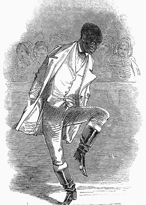 1848 Greeting Card featuring the photograph Master Juba (c1825-c1852) by Granger