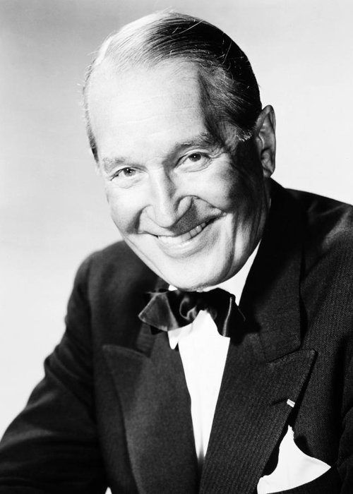 20th Century Greeting Card featuring the photograph Maurice Chevalier by Granger