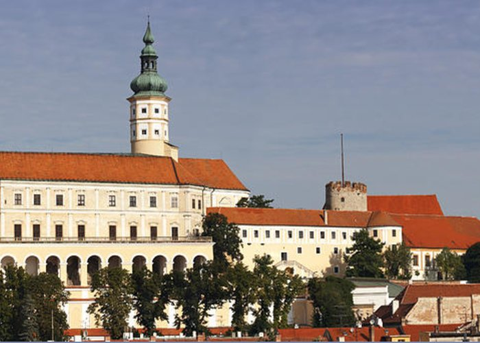 Mikulov Greeting Card featuring the photograph Mikulov Castle by Michal Boubin
