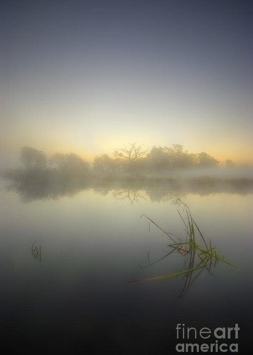 Sunrise Greeting Card featuring the photograph Misty Dawn 4.1 by Yhun Suarez