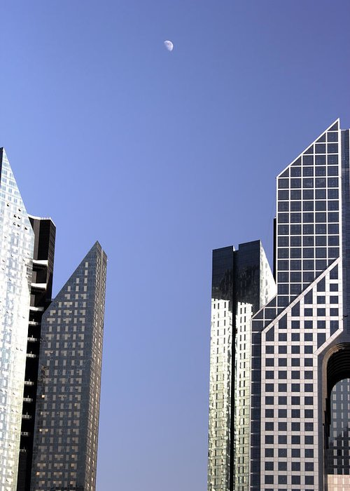 Building Greeting Card featuring the photograph Modern Architecture by Radoslav Nedelchev