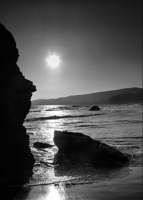 Shore Greeting Card featuring the photograph Morro Bay Shoreline Iv by Steven Ainsworth