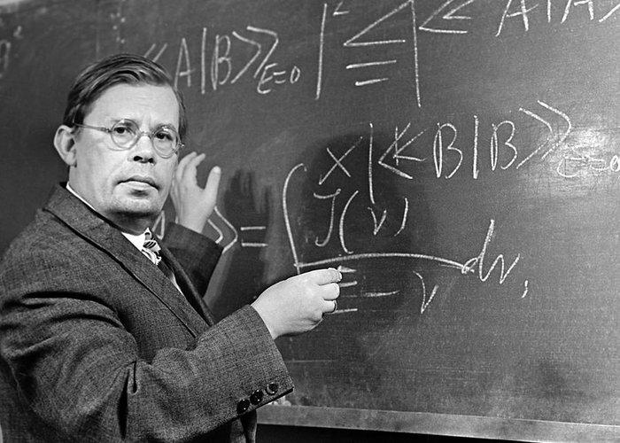 Nikolai Nikolaevich Bogolyubov Greeting Card featuring the photograph Nikolai Bogolyubov, Soviet Physicist by Ria Novosti