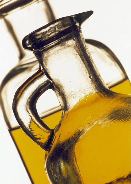 Food Greeting Card featuring the photograph Olive Oil by Tony Craddock