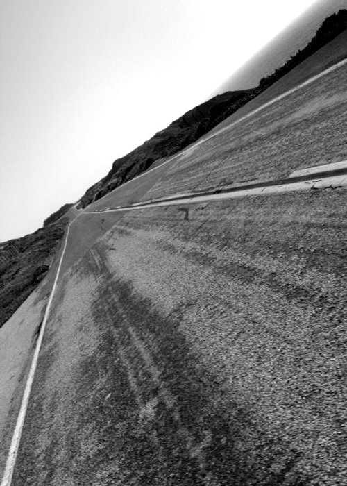 Harmony Greeting Card featuring the photograph On The Road by Steve Parr
