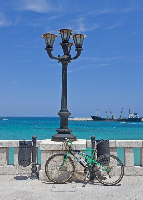 Otranto Greeting Card featuring the photograph Otranto - Apulia by Joana Kruse